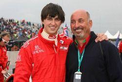 Graham Rahal avec sn père Bobby