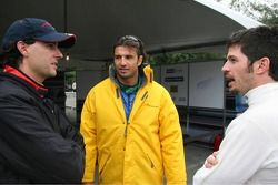 Bryan Herta, Christian Fittipaldi et Patrick Carpentier