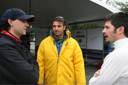 Bryan Herta, Christian Fittipaldi and Patrick Carpentier