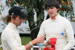 Matt Halliday et Graham Rahal