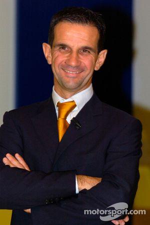 Le directeur du Team Yahama Davide Brivio