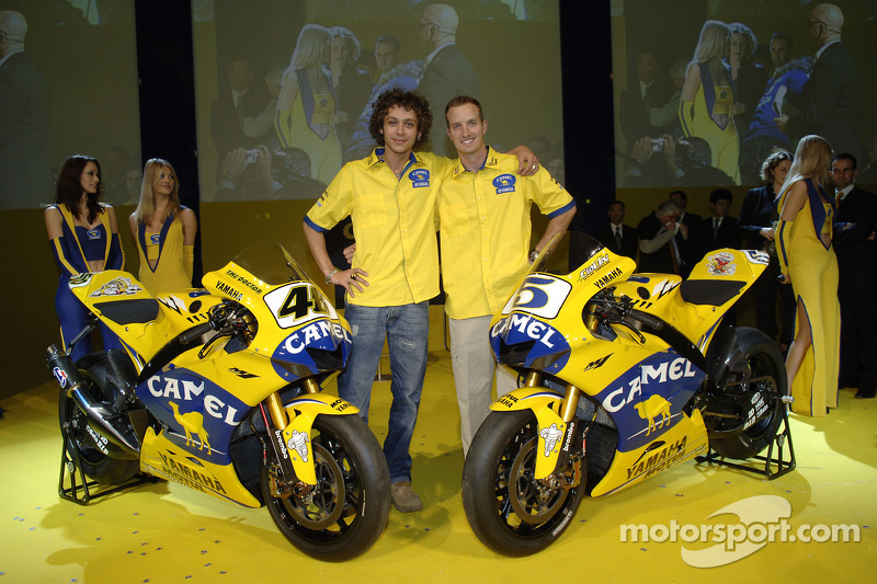 2006. Valentino Rossi et Colin Edwards