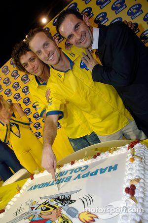 Gâteau d'anniversaire pour Colin Edwards