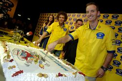 Birthday cake for Colin Edwards