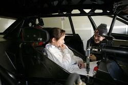 Vanina Ickx und Mattias Ekström, Audi