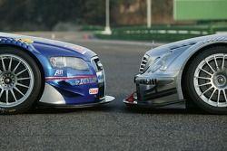 Audi A4 DTM vs. AMG-Mercedes C-Klasse
