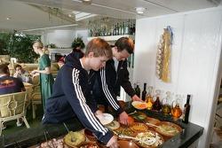 Mattias Ekström and Frank Stippler
