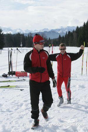 Mattias Ekström and Tom Kristensen