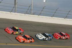 Jeff Gordon, Tony Stewart, Ryan Newman and Dale Earnhardt Jr.