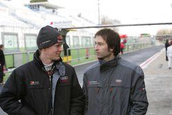 Mattias Ekström und Heinz-Harald Frentzen, Audi