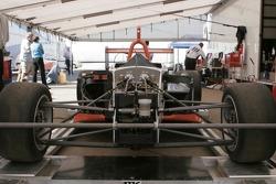 Detail of the new Atlantic car