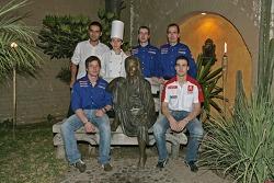 Sébastien Loeb, Xavier Pons y Carlos Del Barrio tienen una noche