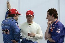 Daniel Elena, Sébastien Loeb et Marc Van Dalen