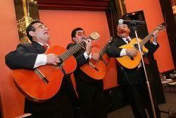 Des musiciens au dîner NASCAR à l'hôtel Nikko
