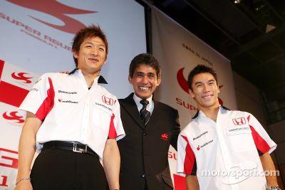 Présentation Super Aguri F1 à Tokyo