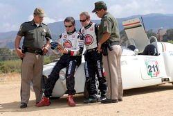 Rubens Barrichello de Honda et le directeur sportif Gil de Ferran ont voyagé à Oaxaca, pour particip