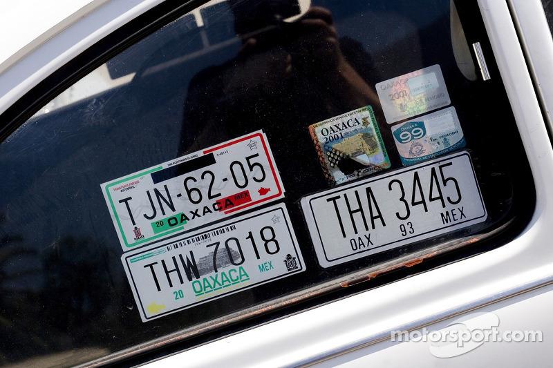 Honda F1 Carrera Panamericana trip, Oaxaca, Mexico