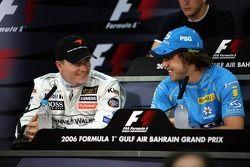 FIA press conference: Kimi Raikkonen and Fernando Alonso