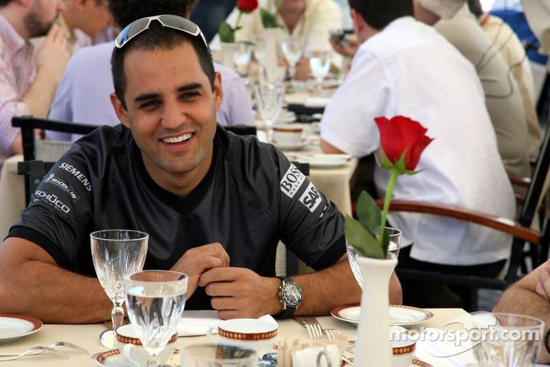 McLaren media breakfast, Ritz Hotel: Juan Pablo Montoya