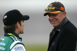 Jeff Gordon and Dale Jarrett