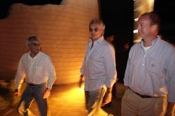 Bernie Ecclestone ve Flavio Briatore