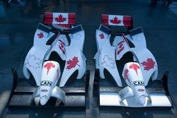 Des pièces du Team Canada