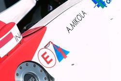 La voiture A1GP de Ananda Mikola