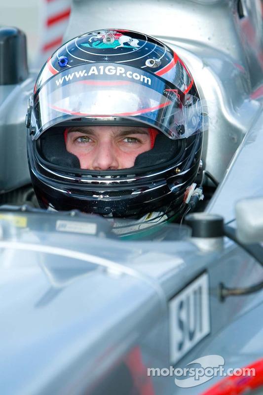 Le pilote de l'équipe de Suisse Giorgio Mondini