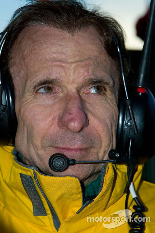 Le double champion du monde de l'équipe du Brésil Emerson Fittipaldi