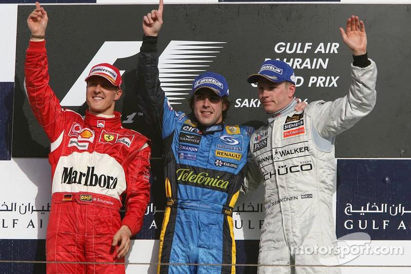 بدأ فرناندو ألونسو موسم 2006 بفوز في البحرين