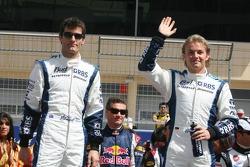 Presentación de pilotos: Mark Webber y Nico Rosberg