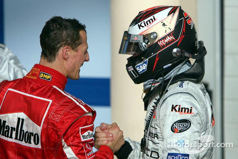 8. Kimi Raikkonen, McLaren-Mercedes: del 22º al 3º en el GP de Bahrein 2006