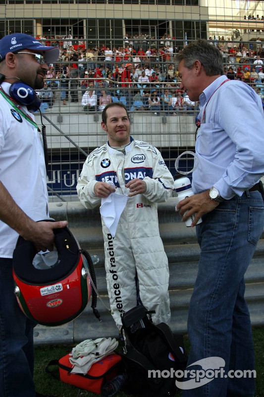 Jacques Villeneuve et Craig Pollock