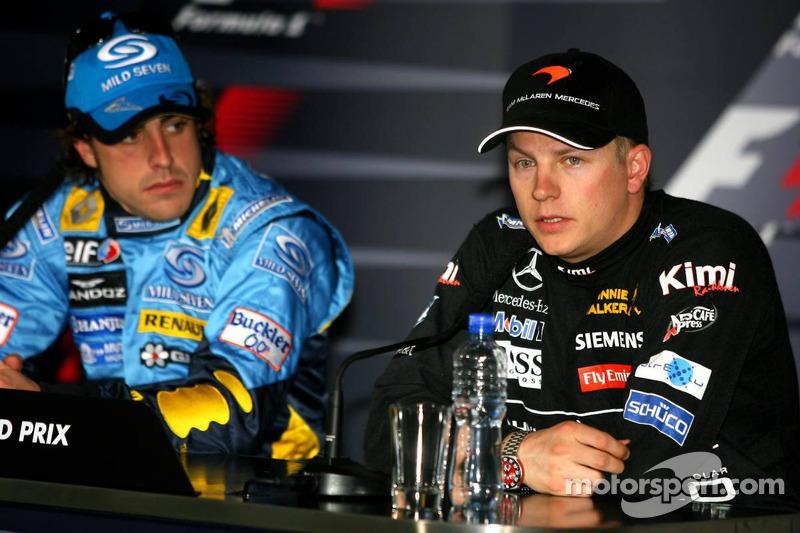Conferencia de prensa: Fernando Alonso y Kimi Raikkonen