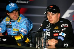 Press conference: Fernando Alonso and Kimi Raikkonen