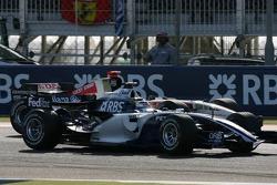 Nico Rosberg y Rubens Barrichello
