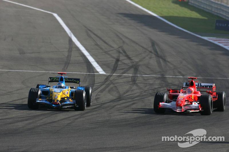 12 Mart 2006: Bahreyn'deki ilk yarışı Alonso kazanıyor