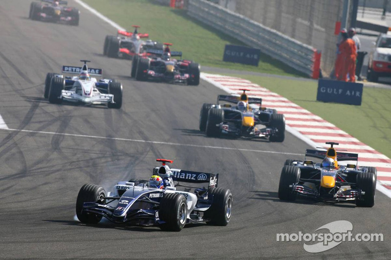 Mark Webber y Christian Klien