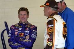 Jamie McMurray and Dale Jarrett