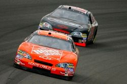 Tony Stewart and Sterling Marlin