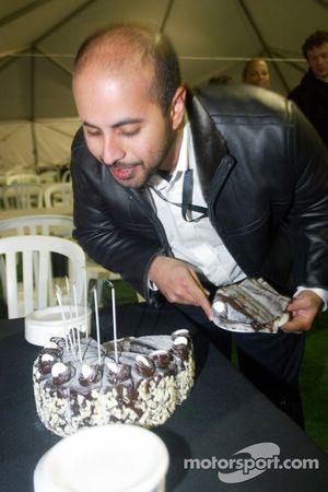 Sheikh Maktoum Hasher Maktoum Al Maktoum celebrates his birthday