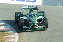 Team Pakistan driver Adam Khan