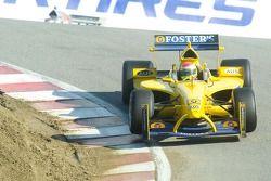 Team Australia driver Ryan Briscoe