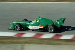 Team Ireland driver Ralph Firman