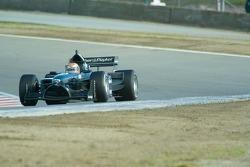 Team New Zealand driver Matt Halliday
