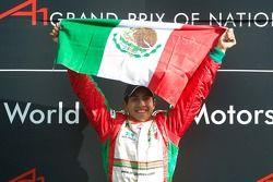 Salvador Duran de l'équipe du Mexique