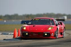 #62 Risi Competizione Ferrari 430 GT Berlinetta: Ralf Kelleners, Jaime Melo, Anthony Lazzaro