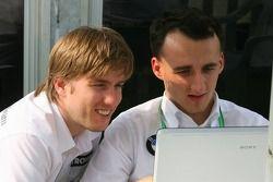 Nick Heidfeld y Robert Kubica