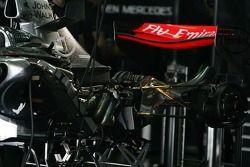 Moteur et boîte de vitesse de McLaren Mercedes