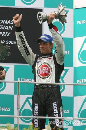 Podio: tercer lugar Jenson Button